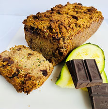 Low Carb Zucchini Chocolate Chip Bread