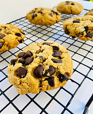 The Best Keto Chocolate Chip Cookies- Hands Down (Keto, Low Carb, Dairy Free)
