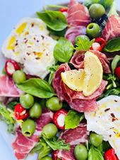 Easy Burratta Salad