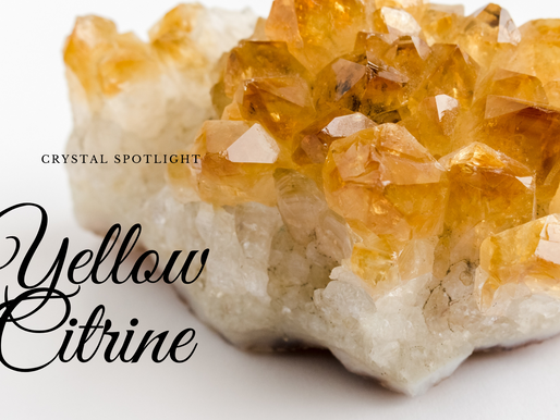 Crystal Spotlight Yellow Citrine