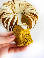 Keto Pumpkin Spice Mini Bundt Cake (Dairy Free)