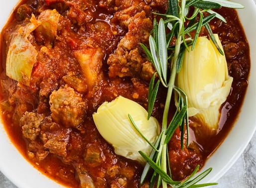 Artichoke Italian Meat Sauce