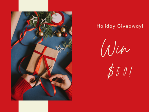 Holiday Giveaway!