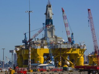 Oil-drilling rig will create jobs, but not so many year-round ones