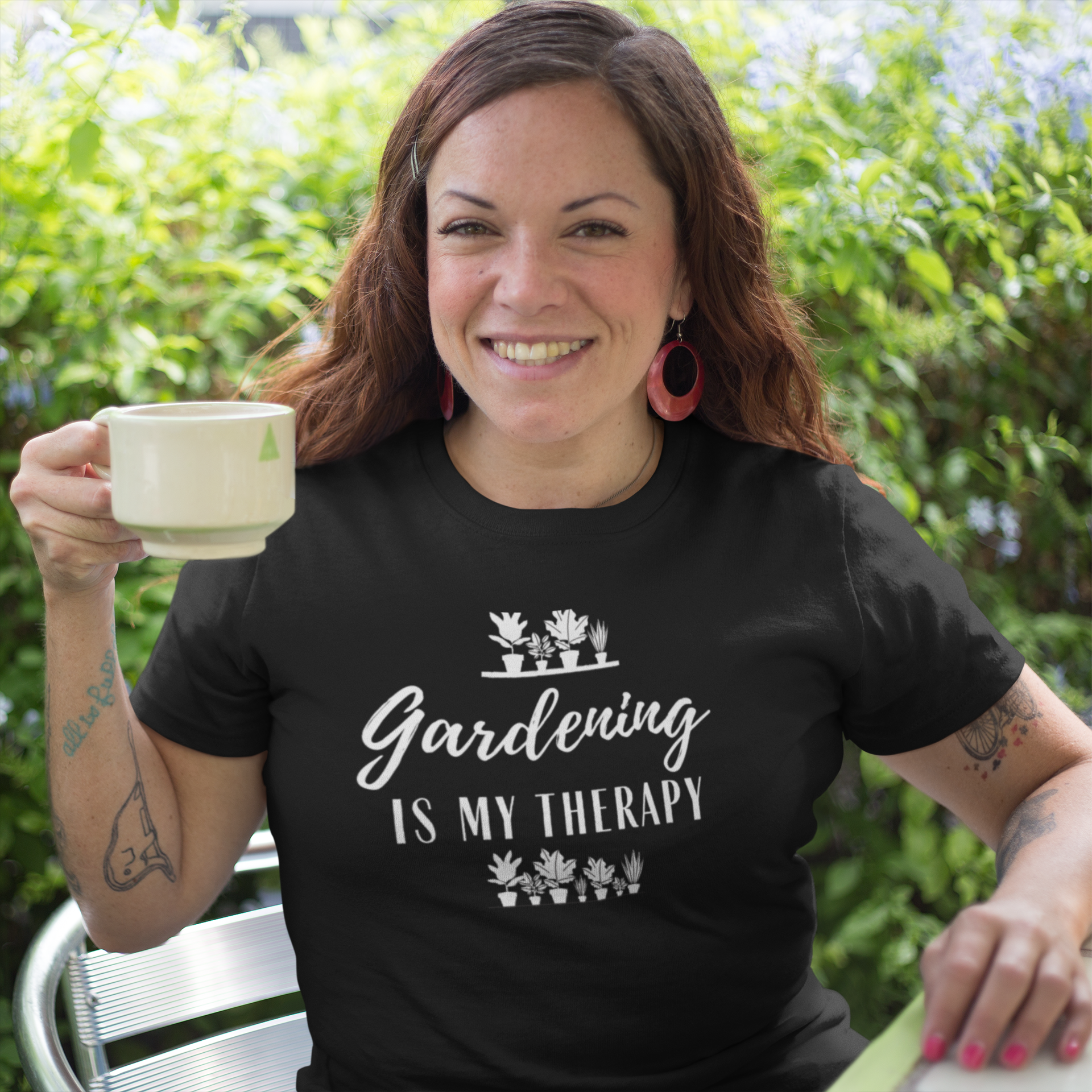 Plant Lover Shirt DTG Gardening Shirt Funny Gardening Shirt Gardener Gift Gardening Is My Therapy Shirt Gardening Gift Gardener Shirt