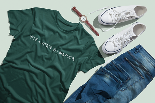 Nature T-shirt | Smarter By Nature T-shirt | Nature Lover Tee |