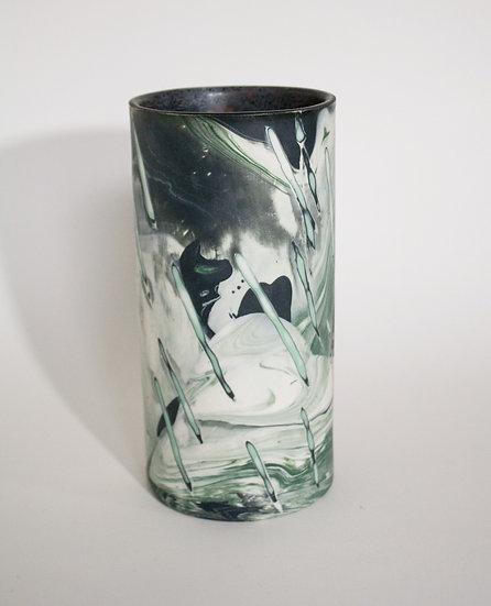 Serpentine Marble Vase 02
