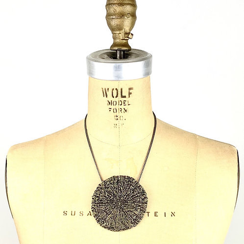 Pyrite Sun Necklace