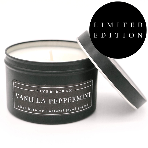 Vanilla Peppermint Soy Candle