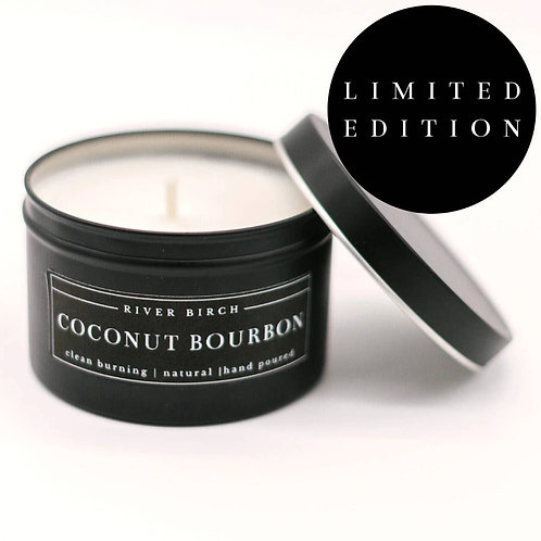 Coconut Bourbon Soy Candle