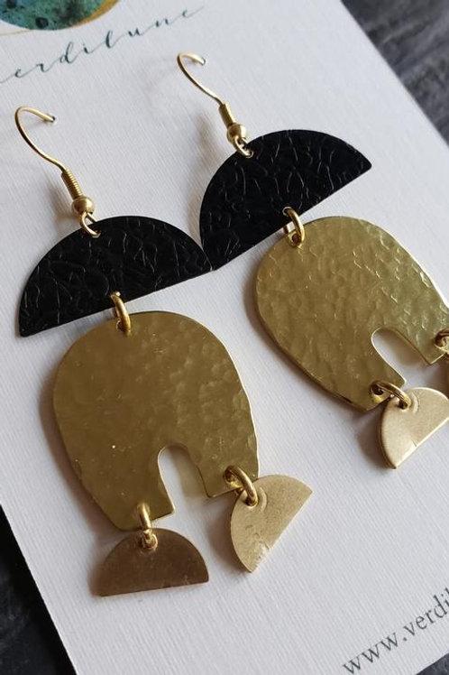 Dark Metals Earrings