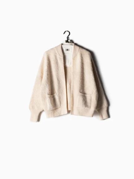 Ribbed Fleece Cardi