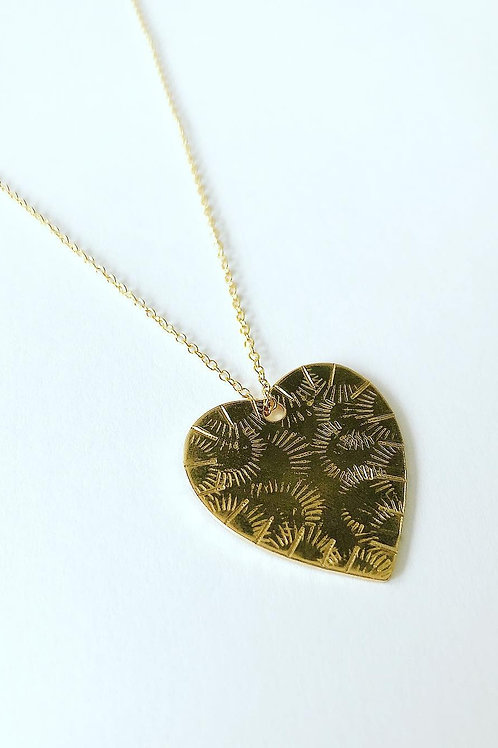 Fluttering Heart Necklace