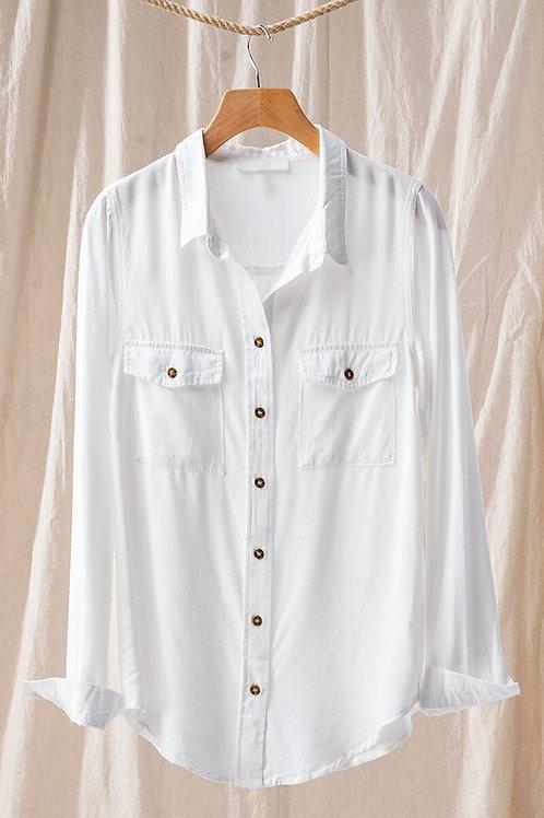 Lana Button down shirt