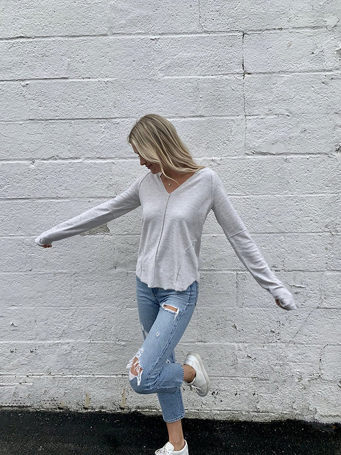 Inside out Pullover