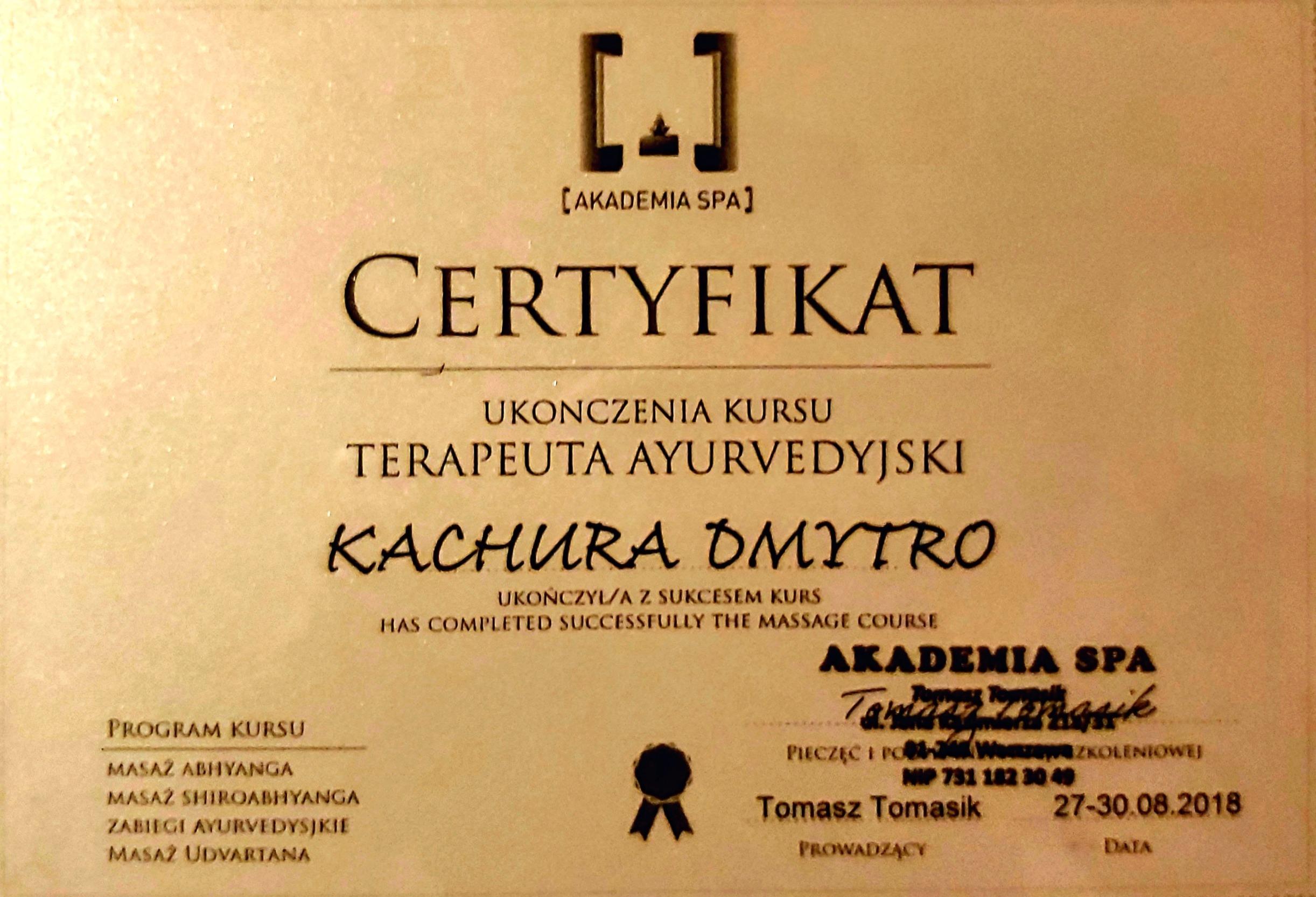 Akademia Spa