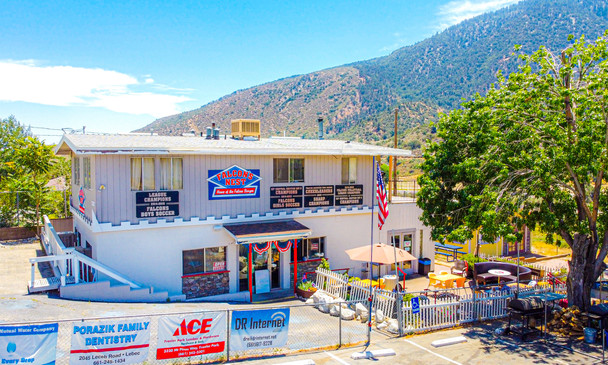Iconic Falcon's Nest Restaurant