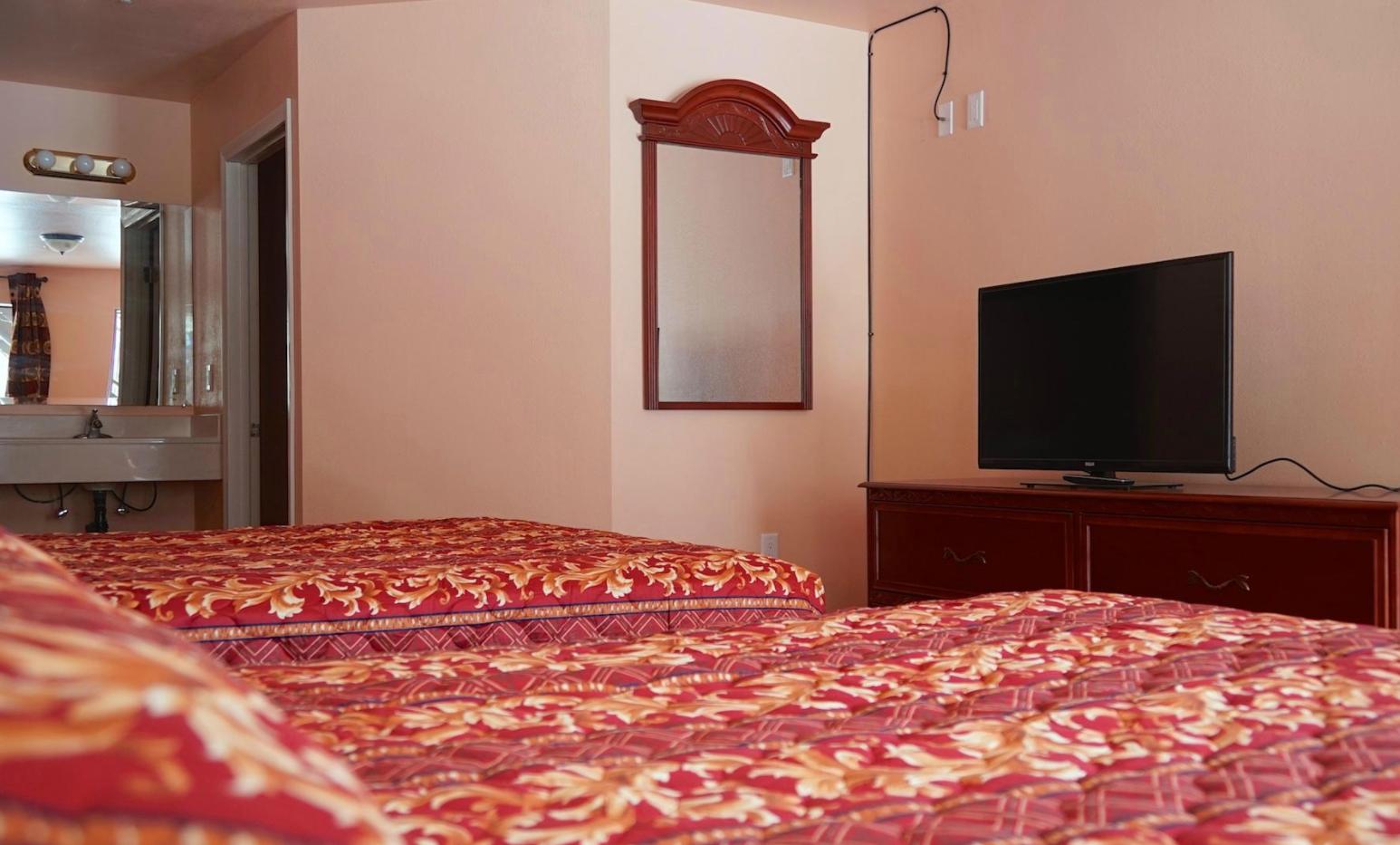 Motel Room Interior