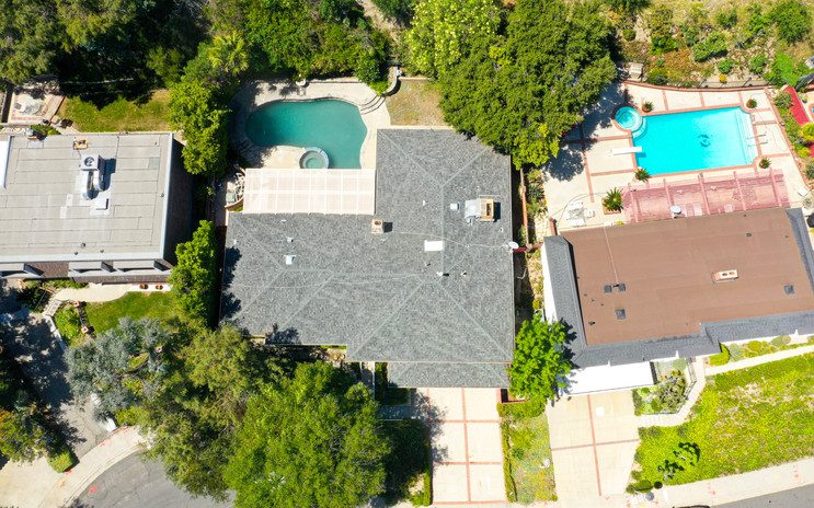 Aerial View of Glendale Homes
