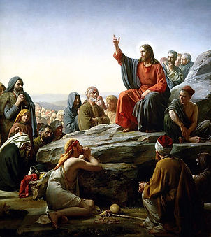 Carl Bloch painting - Sermon on the Mount