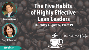 The 5 Habits of Highly Effective Lean Leaders