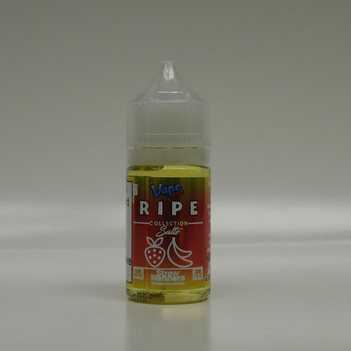 StrawNanners Salt RIPE Collection By Vape 100