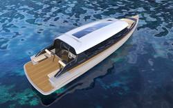 Limousine tender boat