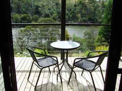 Launceston Wildlife Retreat deck