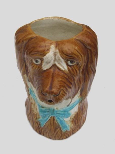 Victorian Spaniel Head Jug