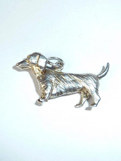 Vintage Sterling Silver DachshundSOLD