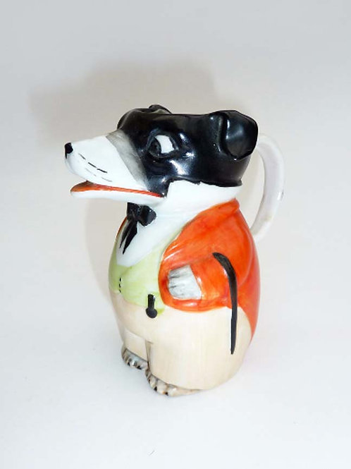 Child's Figural Dog Pitcher Circa 1895