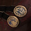 Thumbnail: Pair Of Boxed Late 18th Century French Bracelets With Gold Clasps