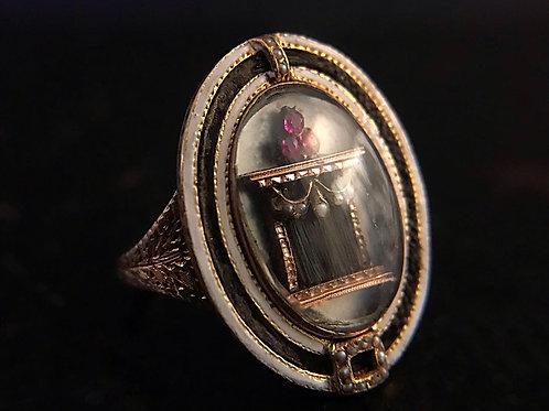 Georgian 'Altar Of Love' Ring