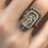 Thumbnail: French Ring Circa 1780 Filled With Loose Diamonds