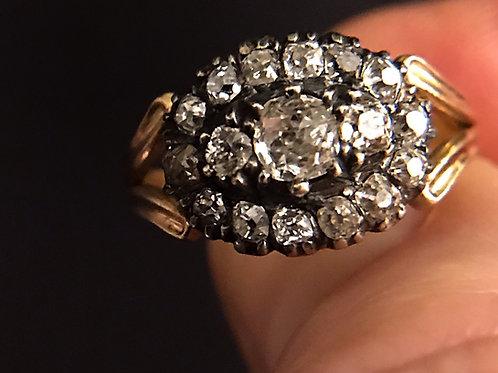 Georgian Old Cut Diamond Ring