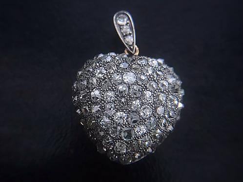 Diamond Heart Locket Circa 1900