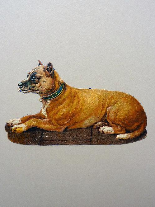Die-cut Terrier