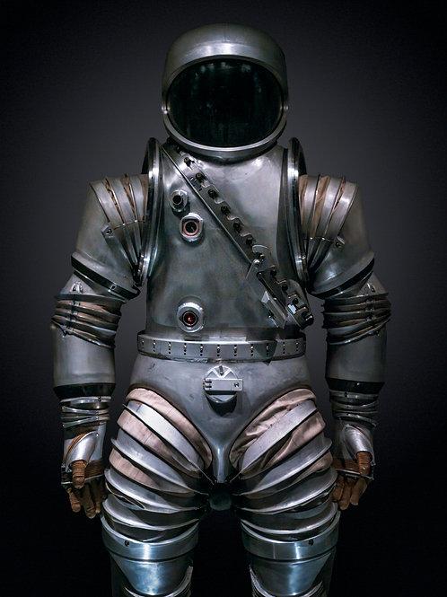 NASA Spacesuit 1. 62x82 cm unframed 75.7x95.7 cm Framed