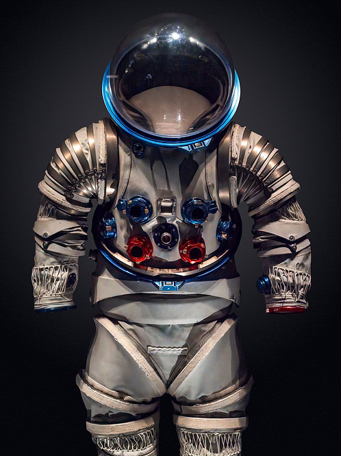 NASA Spacesuit 3. 62x82 cm unframed 75.7x95.7 cm Framed