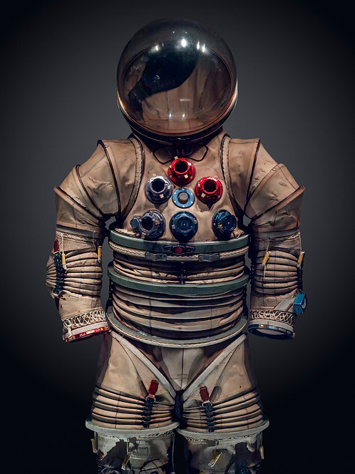 NASA Spacesuit 2. 62x82 cm unframed 75.7x95.7 cm Framed