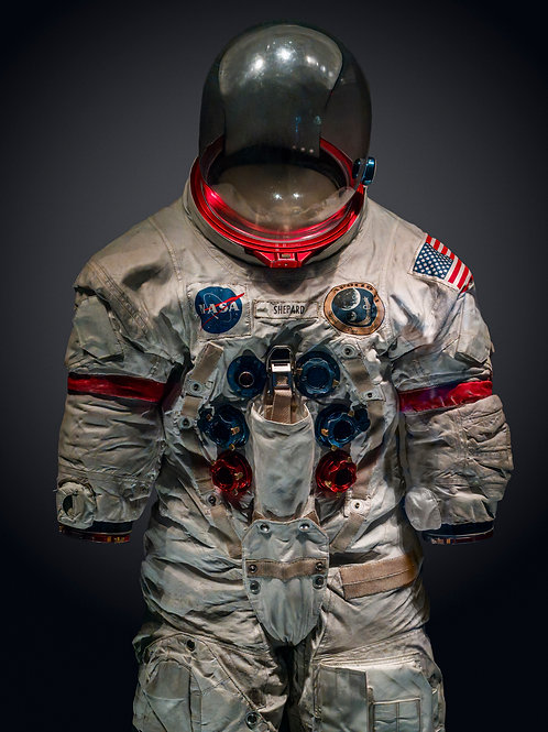 NASA Spacesuit 4. 62x82 cm unframed 75.7x95.7 cm Framed