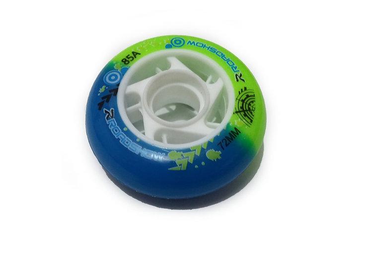 (72mm) 8 llantas para patines Free skate
