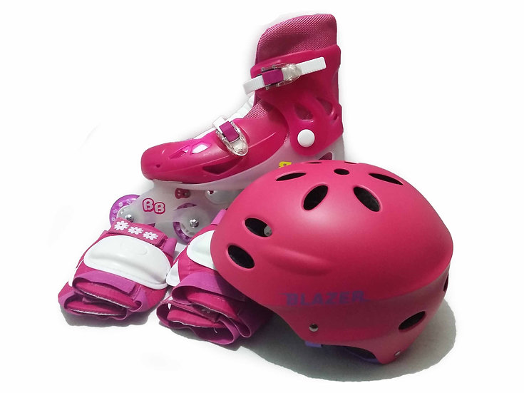 Patines de fitness BB con Set de proteccion