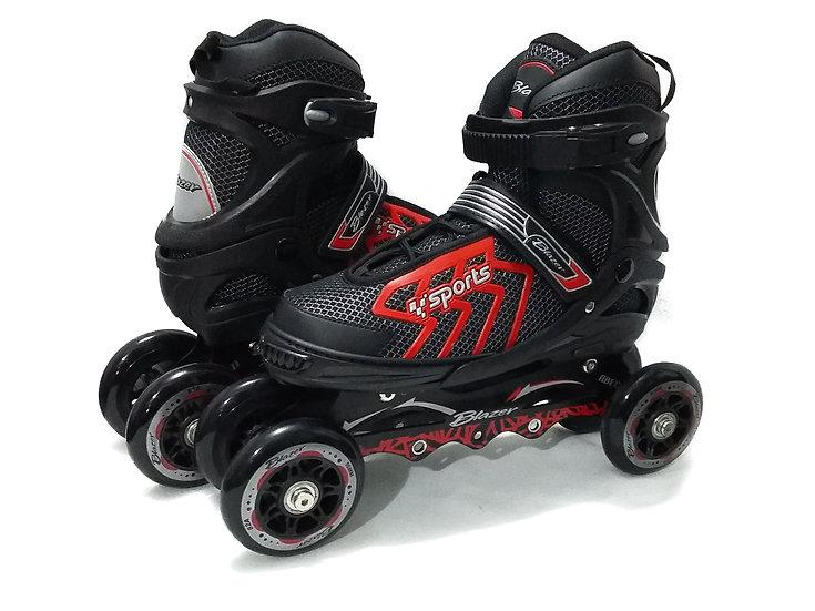 Patines de velocidad Quads 2 en 1