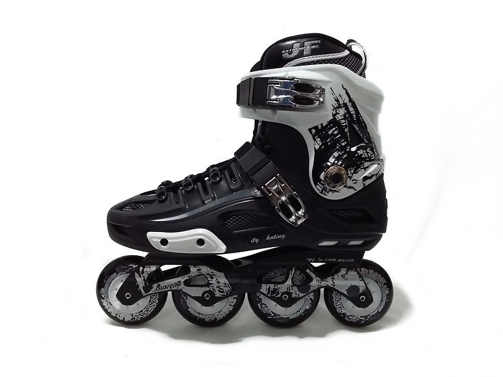 Patines Free skate  JF Negro