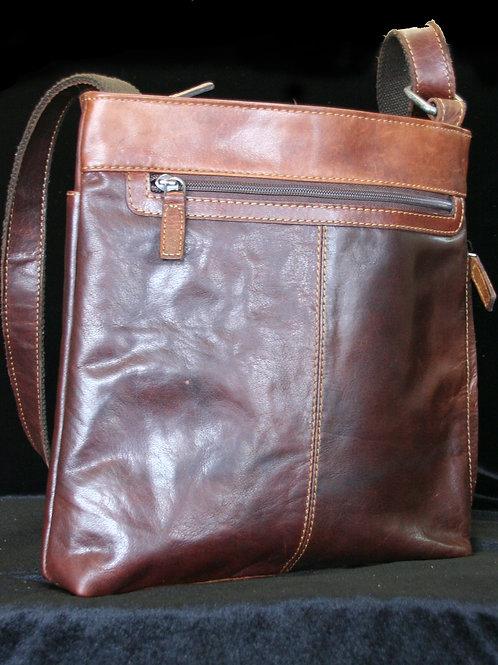 Buffalo Leather Crossbody Bag
