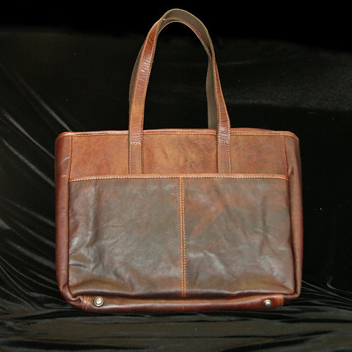 Buffalo Leather Business Tote Bag