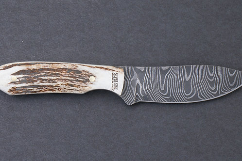Silver Stag Stag Twist (Damascus Steel)