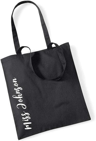 Personalised Name Tote Bag