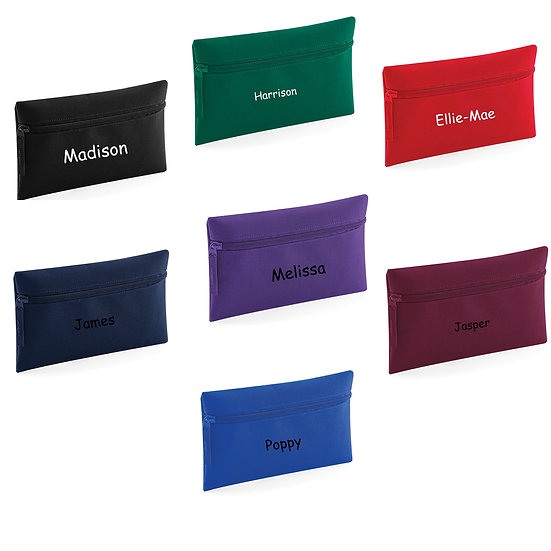 Personalised Children's Zipped Pencil Case